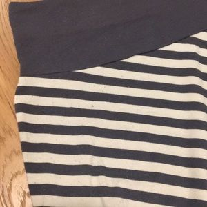 Old Navy Skirts - Old Navy navy and white skirt